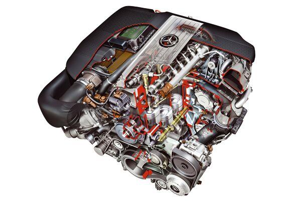 CAV 0911 Zugfahrzeuge Reiterauto - Mercedes-Diesel-Motor