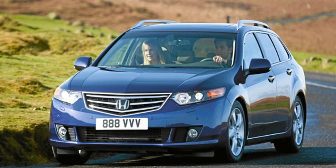 CAV 0911 Zugfahrzeuge perfektes Auto - Kombi - Honda Accord Tourer