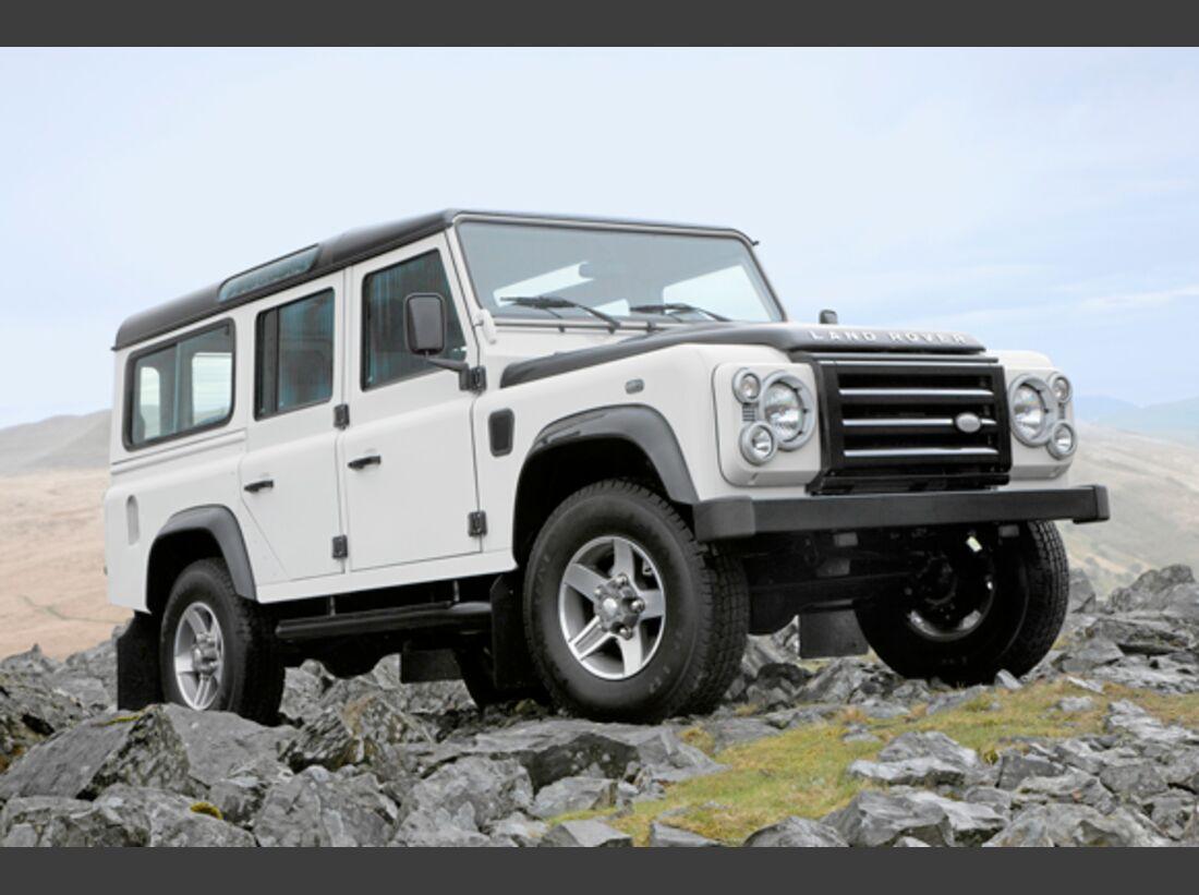 CAV 0911 Zugfahrzeuge perfektes Auto - SUV - Land Rover Defender