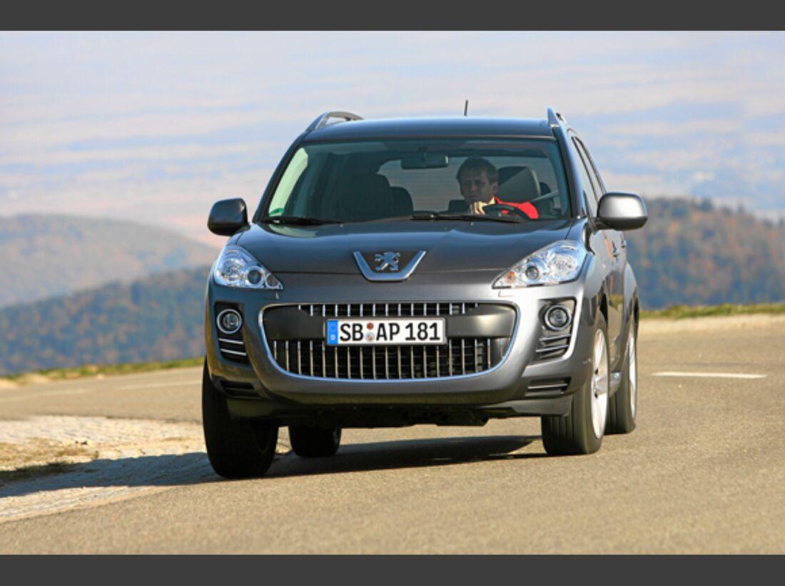 CAV 0911 Zugfahrzeuge perfektes Auto - SUV - Peugeot 4007