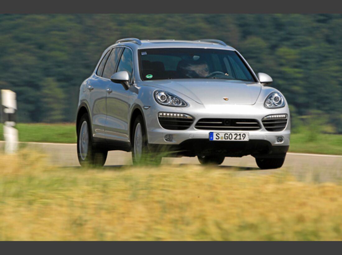 CAV 0911 Zugfahrzeuge perfektes Auto - SUV - Porsche Cayenne