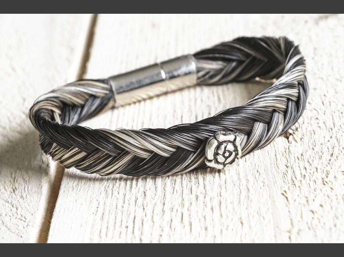 CAV Bastelecke Armband Pferdehaar 1