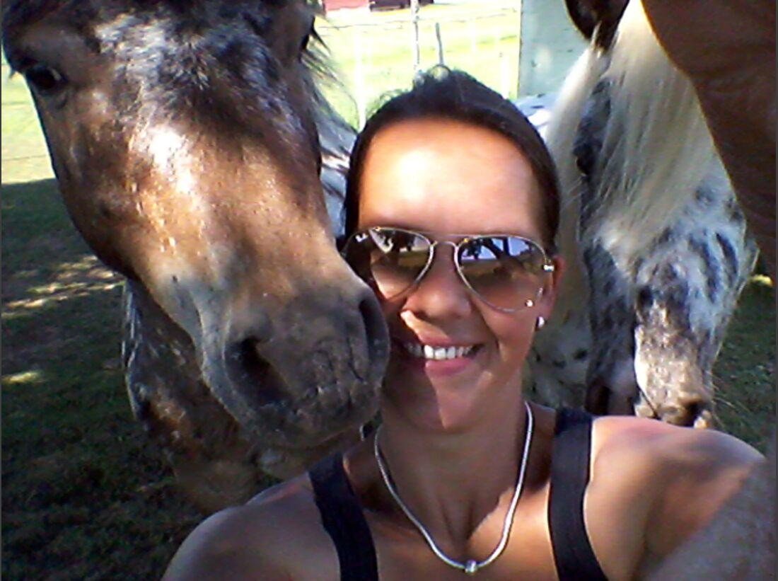 CAV Leserfotos Selfies Pferde Sarah