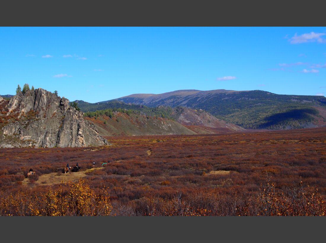 CAV Wanderreiten Mongolei