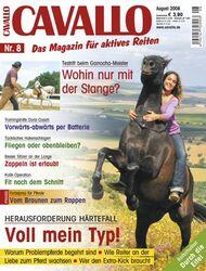 Cavallo Cover August 2008