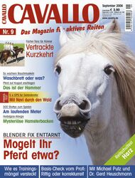 Cavallo Cover September 2008